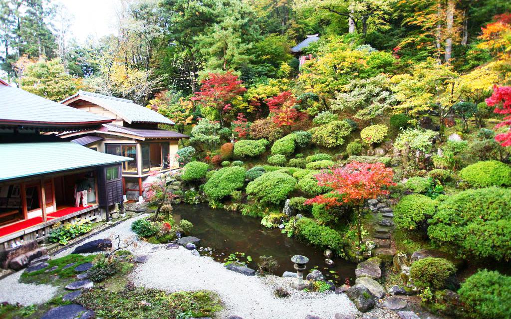 The Autumn Festival Of Fusaiji's Garden