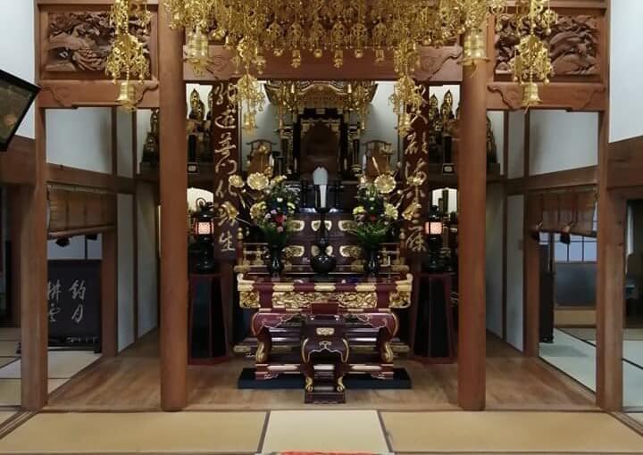 9月18日 今日はいよいよ弟子法侖尼が普門寺に入る日です。