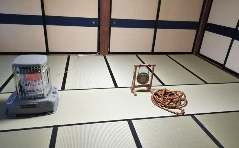 11月23日 今日は村の百万遍(ひゃくまんべん止め念仏) 後のお茶会の会場を洋風にしてみました。