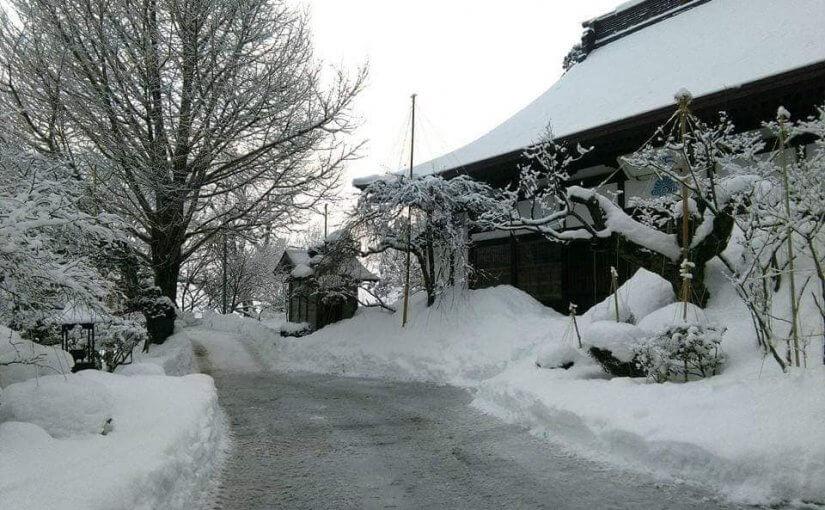 漢詩 2月1日 2年前の二月一日(今年は雪が全く有りません!)