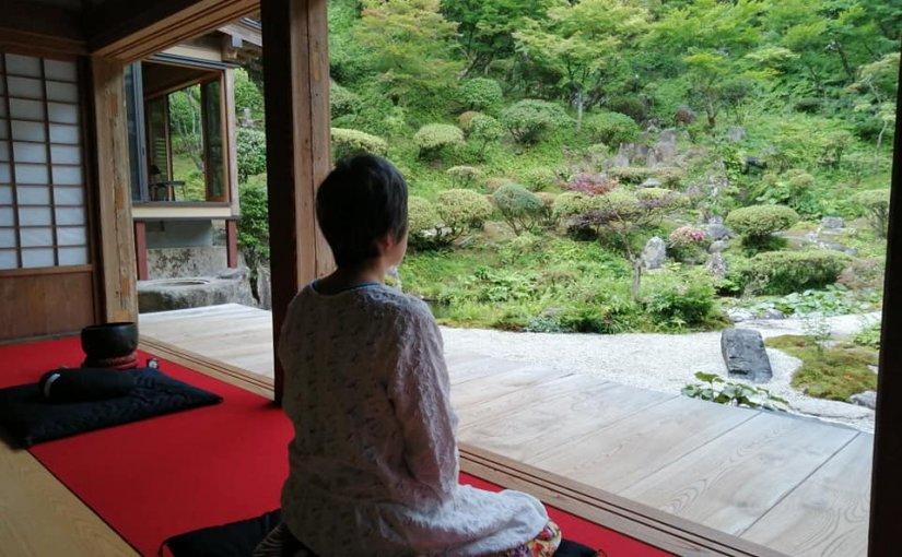 6月25日 清々しい新潟県村上市の朝です。