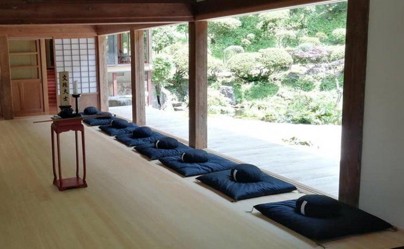 6月27日 坐禅会会場を変えました。 第四土曜日午後1時半から参加者11名でした。