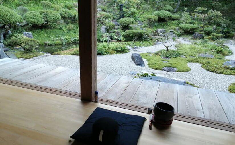 漢詩 9月6日 昨夜ようやく涼風が心地よく吹く中で坐禅した(暑い残暑続いてました)感慨を書いてみました。