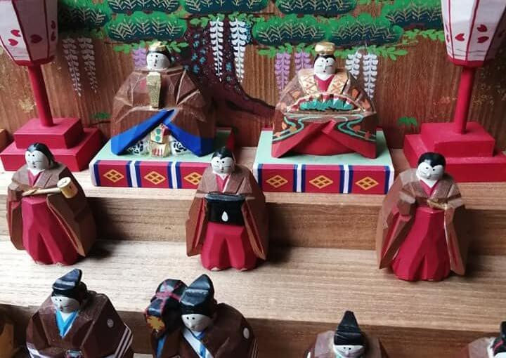 3月5日 新潟県村上市ではお雛様は四月です。 町屋では今年は「お人形さま巡り」四月三日まで開催です。(コロナ対策に万全を期しながら)